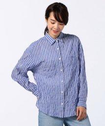 NOLLEY'S/シャーリングストライプシャツ/500384379