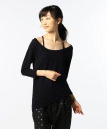 Rie Miller/ベア天9分袖カットソー/500384833