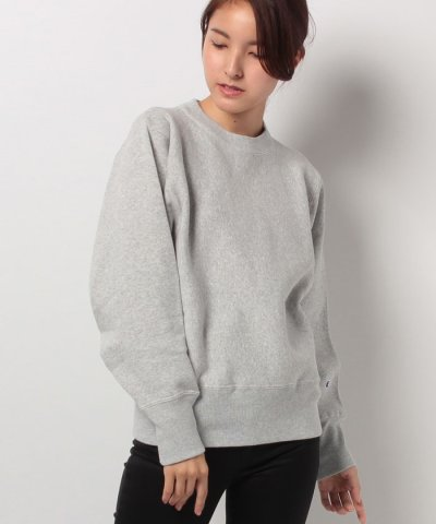 【ADAM ET ROPE'(アダムエロペ)】【Champion for ADAM ET ROPE'】11.5oz RW SWEAT SHIRT (WOMEN'S)