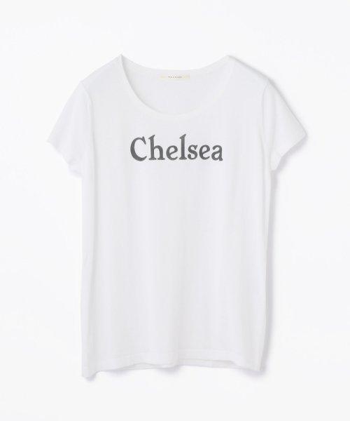 MACPHEE(MACPHEE)/コットンニット プリントTシャツ(CHELSEA)/12027102672