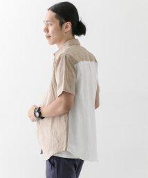 URBAN RESEARCH/【WAREHOUSE】バック切替リネンS/Sシャツ/500379069