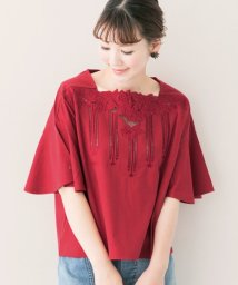 URBAN RESEARCH ROSSO/レース刺繍Tシャツ/500389785