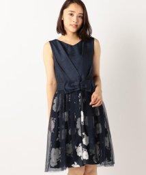 MISCH MASCH/チュール付き花柄2WAYドレス/500290760