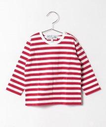 agnes b. ENFANT/J008 L TS ボーダーTシャツ/500375778