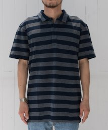 LEVI'S MEN/RICHMOND POLO BIRDSEYE STRIPE SATURATED/500380376