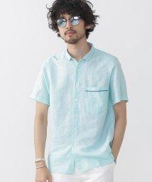 nano・universe///綿麻パナマシャツS/S/500382760