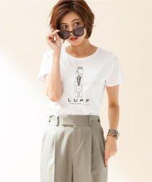 JIYU-KU /【接触冷感・UVケア・洗える】LUFFモチーフTee カットソー/500393422