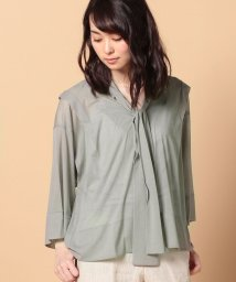 beautiful people/cozmorama sz silkytie blouse top/500350098