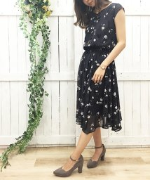 Noela/【with10月号掲載】オリジナルフロッキー小花柄スカート/500391476