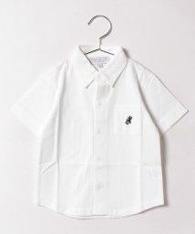 agnes b. ENFANT/J000 E CHEMISE レザール刺繍シャツ/500375797