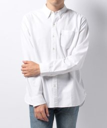 LEVI'S MEN/SUNSET 1 POCKET SHIRT WHITE CN-100X/500386744