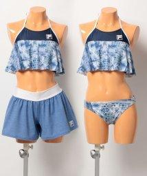 VacaSta Swimwear/【FILA】エスニック柄ビブトップパンツセット/500386626