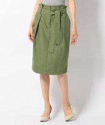 JIYU-KU /【洗える】コットンピーチツイル スカート/500400875