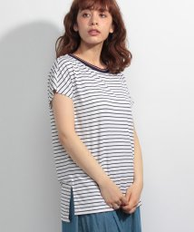 TOMMY JEANS/ストリップTシャツ/500394886