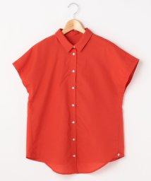 Ray Cassin /ストラップ付きオフショル2WAYシャツ(無地/ストライプ)/500400965