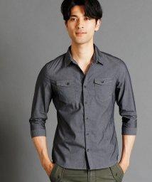 HIDEAWAYS NICOLE/ストレッチツイルシャツ/500387261