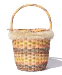 beautiful people/rattan round basket/500350114