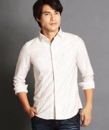 NICOLE CLUB FOR MEN/ホリゾンタルカラーシャツ/500396583