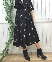 Noela/【Ray11月号掲載/non−no11月号掲載】【セットアップ対応商品】カラーフラワー刺繍スカート/500408213