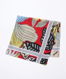 CABaN /mii リーフモチーフシルクスカーフ/500409128