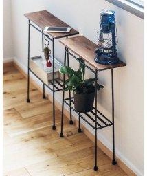 haco!/スリムで少し背が高い ちょい置き細長テーブル/500411506