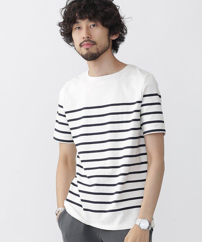 『ナノ・ユニバース』//度詰め天竺パネルBD Tシャツ画像