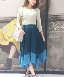 Noela/【CanCam11月号掲載/Ray11月号掲載】配色ランダムスカート/500408212