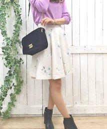 Noela/【Ray11月号掲載】オリジナルAutumnマーガレット柄スカート/500415364