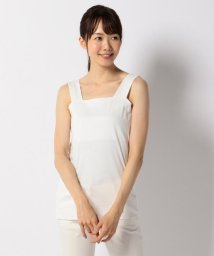 JIYU-KU /【洗える・肌に優しい】プリマスムースローズオイル タンクトップ/500416081