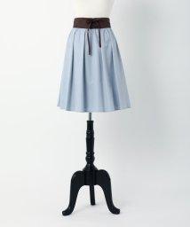 MISCH MASCH/【TVドラマ着用】【美人百花9月号掲載】編上げベルト付きカラースカート/500368736