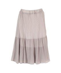 titivate/裾プリーツティア―ドスカート/500418148