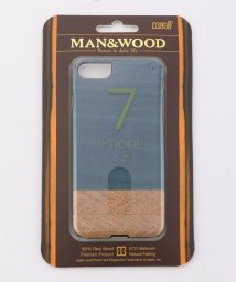 SHIPS JET BLUE/Man&Wood: DENIM 7 iPhoneケース【iPhone7専用】/500418623