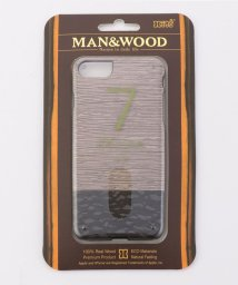 SHIPS JET BLUE/Man&Wood: LATTIS 7 iPhoneケース【iPhone7専用】/500418624