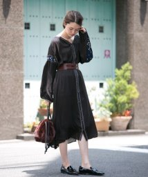 URBAN RESEARCH/楊柳ボヘミアン刺繍ワンピース/500419177