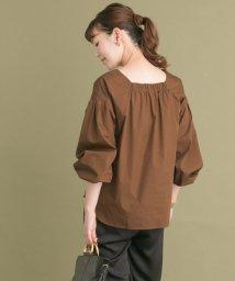 URBAN RESEARCH ROSSO/バルーンスリーブデザインシャツ/500425898