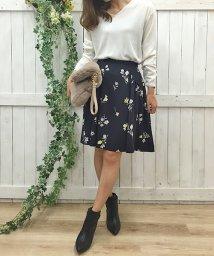 Noela/【non−no11月号掲載】オリジナルポイントカラーフラワースカート/500428212