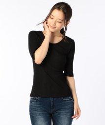 NOLLEY'S/【FREESEAM/フリーシーム】BACK Uネック Tシャツ/500384122