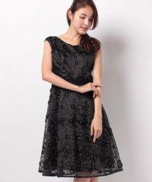 STRAWBERRY FIELDS/ラメフラワー刺繍ドレス/500425845