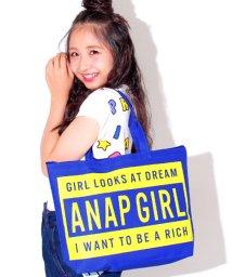 ANAP GiRL/ボックスロゴトートBAG/500426727