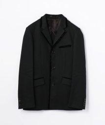 KNOTT MEN/ブラックデニム テーラードジャケット/500433016