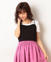 MIIA/ビスチェ×Tシャツセット/500428076