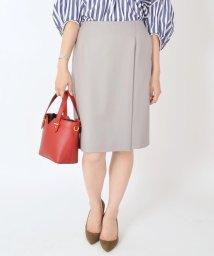 SHIPS WOMEN/【セットアップ対応可能】ウールスカート◇/500434513