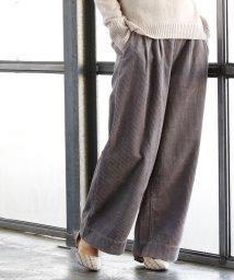 coen/【10/20「ヒルナンデス!」放映・『VERY』10月号掲載・『LEE』11月号掲載】コーデュロイワイドパンツ/500434527