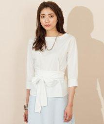ICB(LARGE SIZE)/【店頭売れ筋】【洗える】Royal Cross Cotton  カットソー/500435514