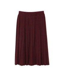 PROPORTION BODY DRESSING/プリーツニットスカート/500435965