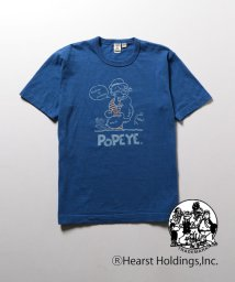 NOLLEY'S goodman/【BARNS×NOLLEY'S】別注吊り天竺POPEYEプリントTEE/500425562