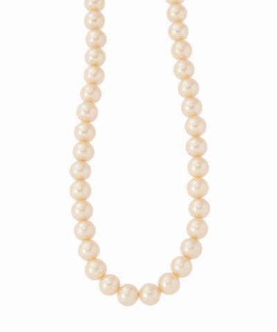 【IENA(イエナ)】gren glass pearl6mm70cm ネックレス