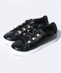 Shoes in Closet/パール レースアップスニーカー/500430993