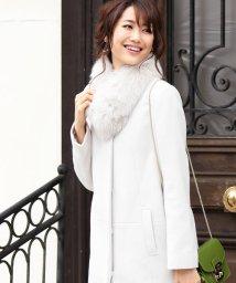 LAISSE PASSE/★【MAGASEEK/d fashion限定】ノーカラーコート/500429583