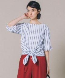 JIYU-KU /【マガジン掲載・洗える】ニット×シャツコンビプルオーバー (検索番号Q39)/500442563